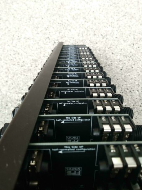 Patchbay open detail